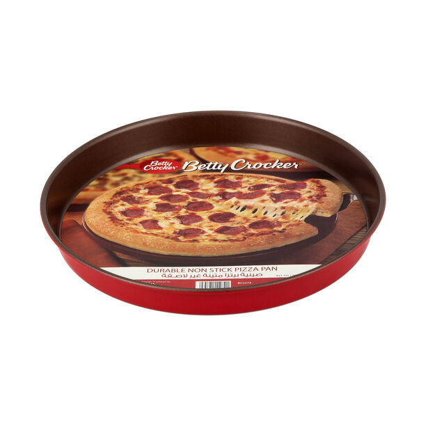 Non Stick Pizza Tray Red image number 2