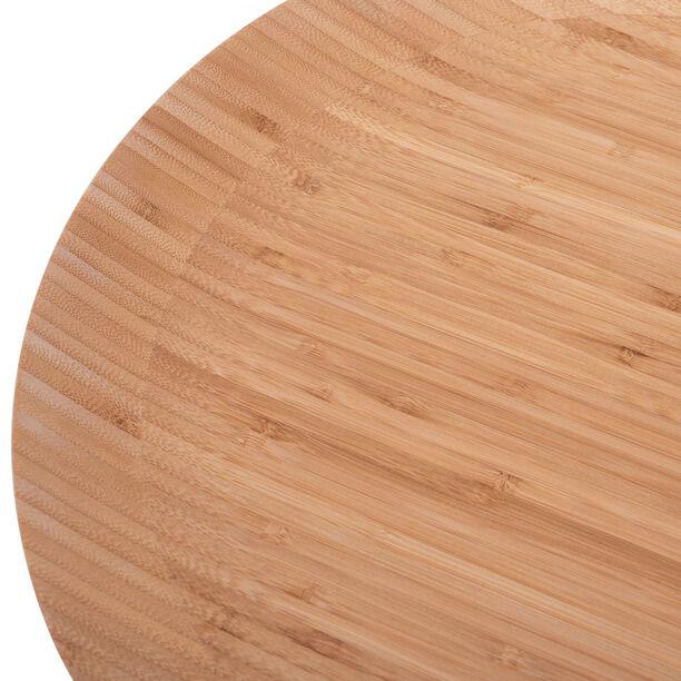 لوح تقديم  دائري خشبي 40 سم من البرتو image number 1