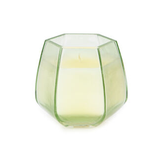 Glass Candle Oud Oasis Pink