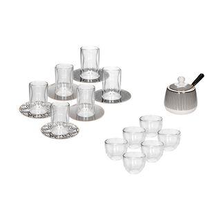 Lamesa Arabic Tea and Coffee Set 20 Pieces