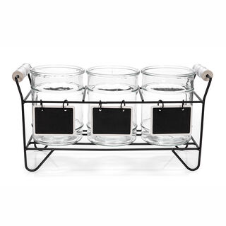 Alberto 3 Section Flatware Caddy With Stand