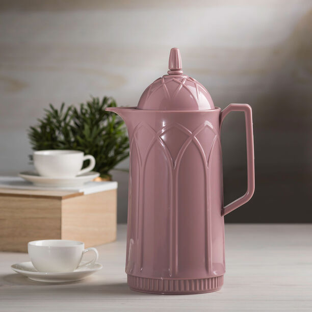 Dallety Plastic Vacuum Flask Mauve image number 2