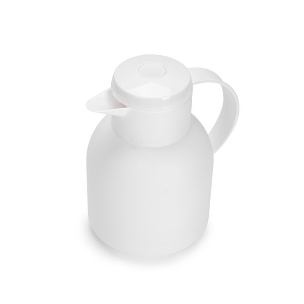 Plastic Vacuum Flask Sampa White 1L image number 1