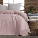 Cottage Cotton Blanket King Daily Purple image number 1