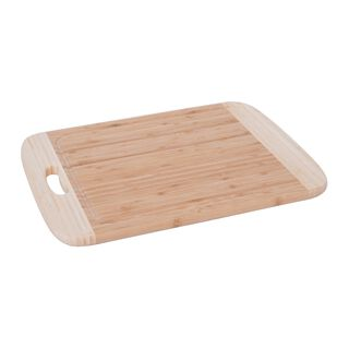 Bamboo Cutting Board With Juice Grooved Borders