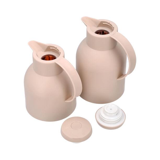 2Pcs Plastic Vacuum Flask Samoan Sand image number 2