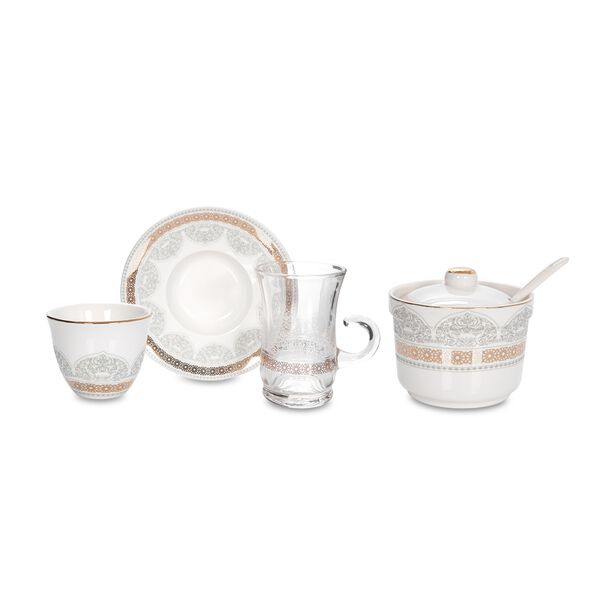 Tea & Coffee Set Of 20 Pieces image number 1