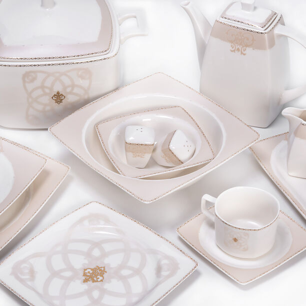47 Pcs Porcelain Dinner Set image number 1