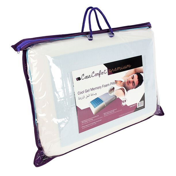Memory Foam Pillow With Cool Gel image number 1