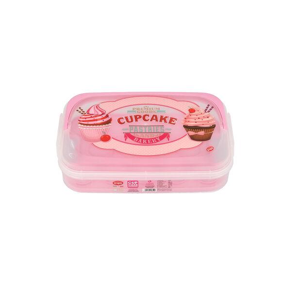 Plastic Cupcake Holder Vintage Design image number 0