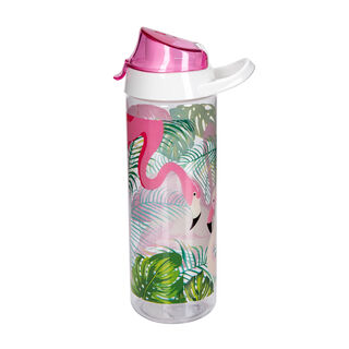 Herevin Plastic Sports Bottle  V-0.75L - Flamingos Design
