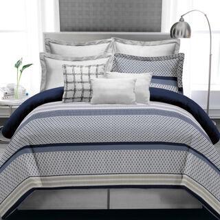 Cottage 5 Pieces Jacquard Comforter King Size Blue