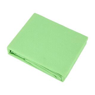 Natural Cotton Summer Bedspread Green