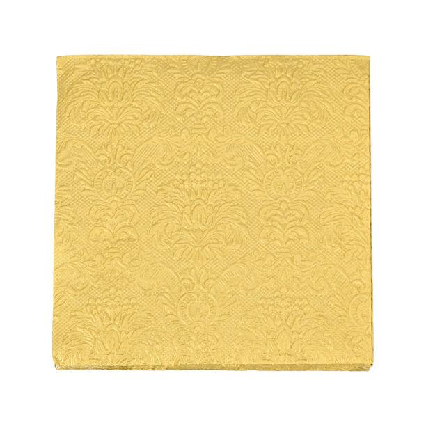مناديل ورقية مربعة الشكل لون ذهبي من الجانس  image number 1