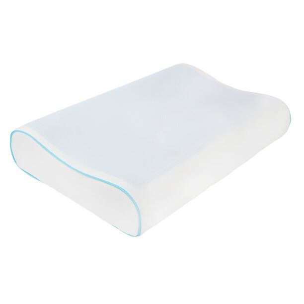 Memory Foam Pillow With Cool Gel image number 0