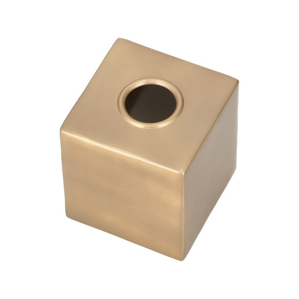 Maddie Bath Tissue Box Gold image number 2
